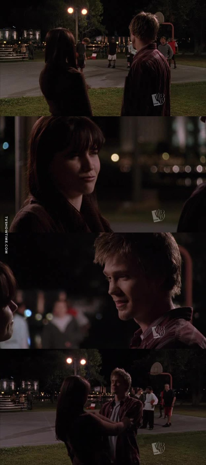 Lucas: This is my world Brooke. Or at least it used to be. Brooke: I have been here before you know. Lucas: I know but I just never told you what this place is to me. It's not just a court, it's where I came from it's where I belong. It's my world. Brooke: So do I get to be part of this world? Lucas: The biggest part.  #Brucas forever ❤❤❤❤
