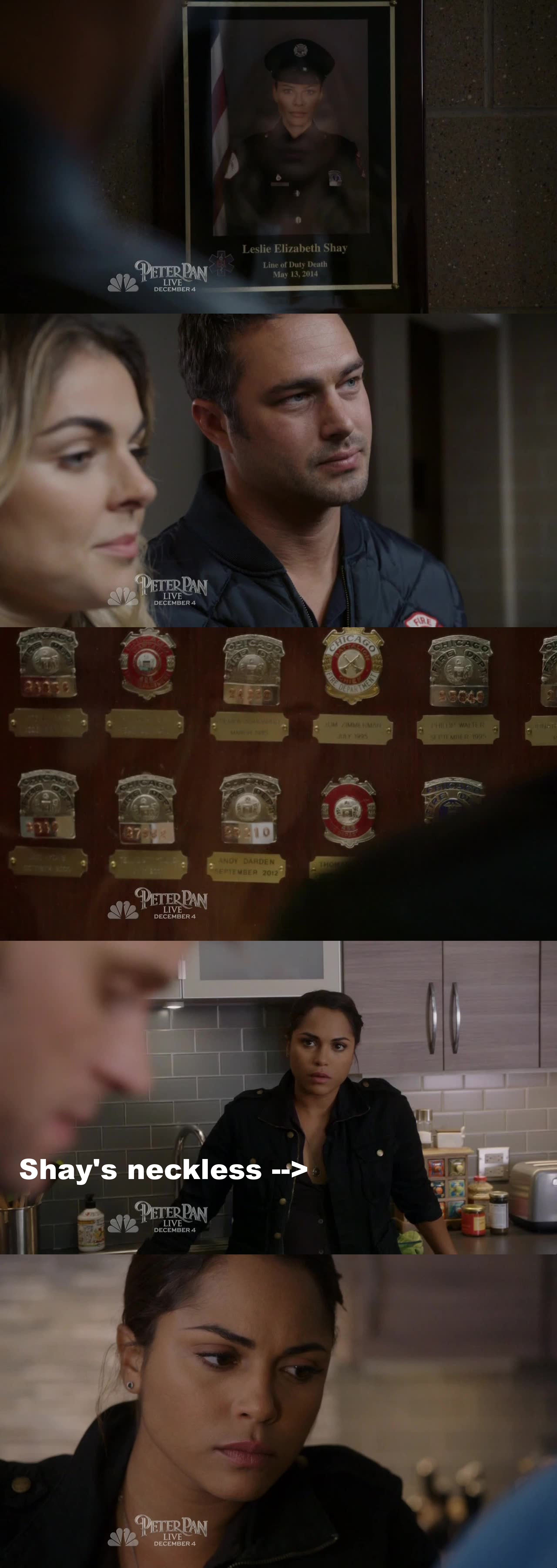 """ENOOOOUUUUUGH !!!!!! HOW DARE YOU ... My heart still can't handle it guys ... I miss Shay so much ... Their wasn't ANY episode when they didn't mention her.... Right now, Severide seems to moving on and be """"ok"""" but now, it's Dawson who desperately need her ... When things weren't ok with Casey she will talk with Shay ... But she can't now and it's so painful .... When the EP chose the character who will die, they definitely pick the good one to affect the strongest character ... Miss you Shay ... ALWAYS!"""