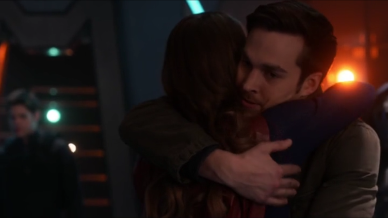 """Mon-El: """"You came after me""""  Kara: """"Every time!""""  Me: ~this is so cute~"""