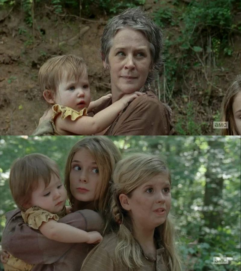 Carol is back!!!!! Judith is alive!!!!  omggggggg yeahhhhh