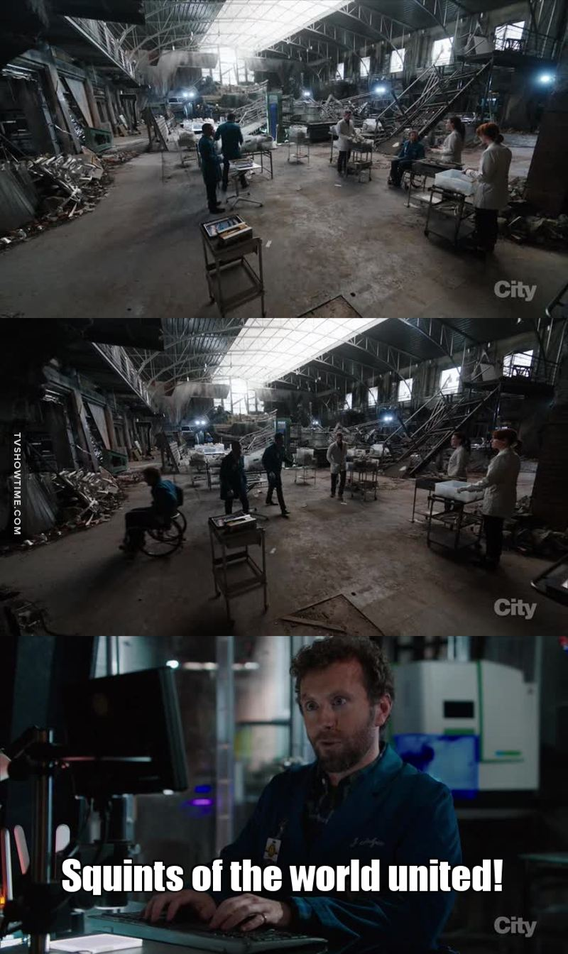 Hodgins summing up the whole episode!