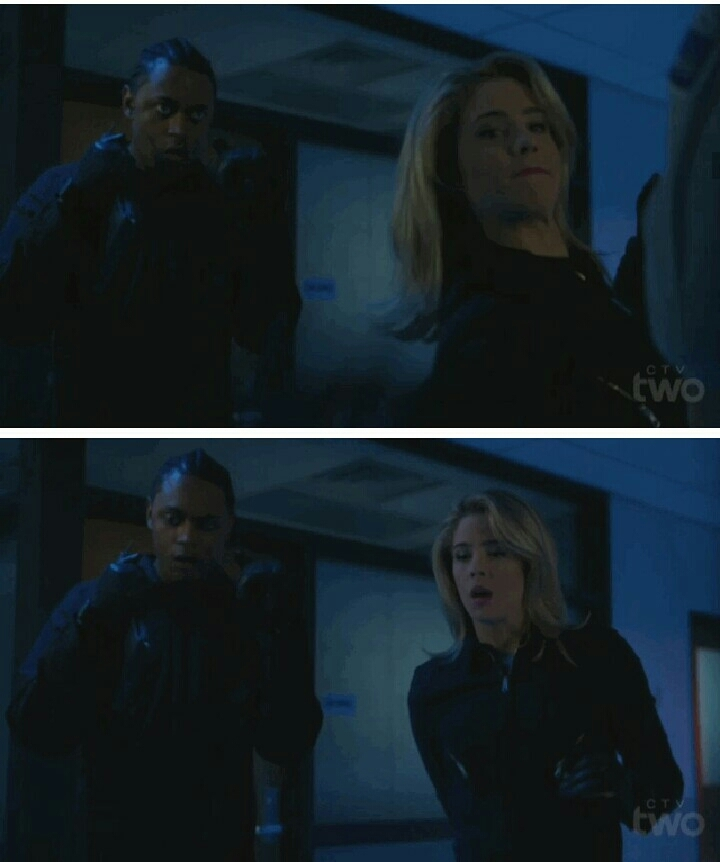 """""""Since when are you such a badass.""""  """"Since always.""""  😂 go Felicity!"""
