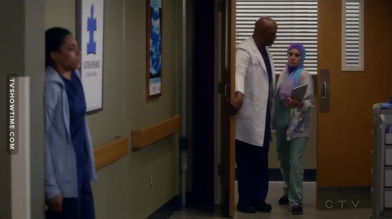I've always loved the diversity of the Grey's Anatomy cast. But this time I just want to say BRAVO Ellen Pompeo for showing staff wearing hijab. Thank you for taking a stand in this discussion - it was really refreshing!