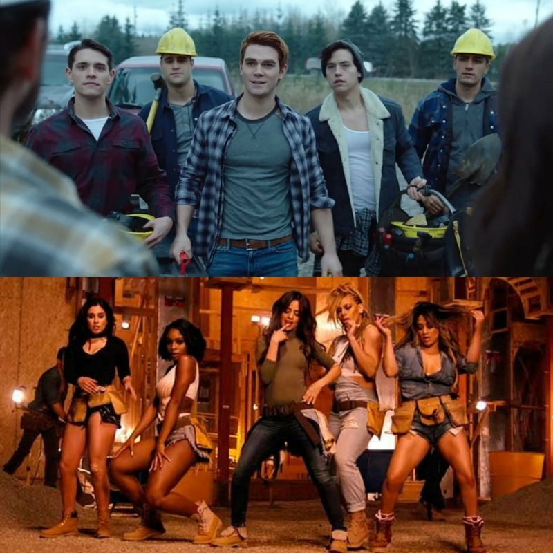 riverdale or the work from home music video?