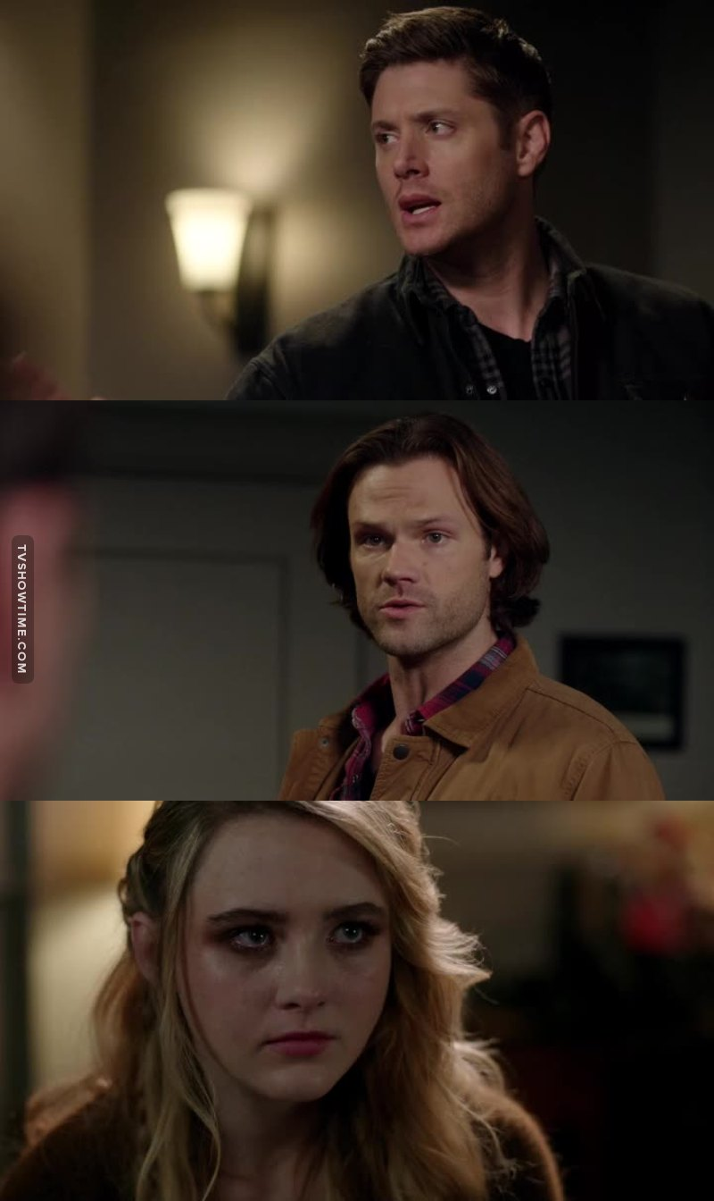 The way the Sammy and Dean care about Claire melts my heart! 😓💓