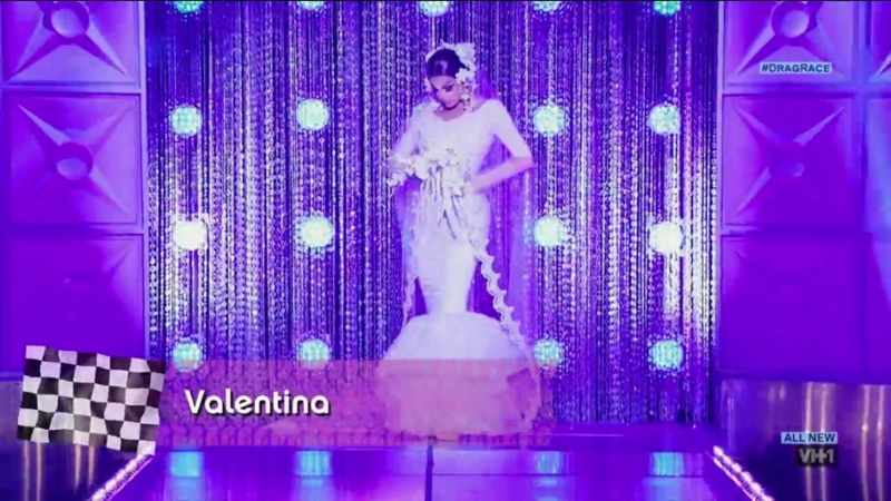 I am living for Valentina, this wedding dress made me tear up a little
