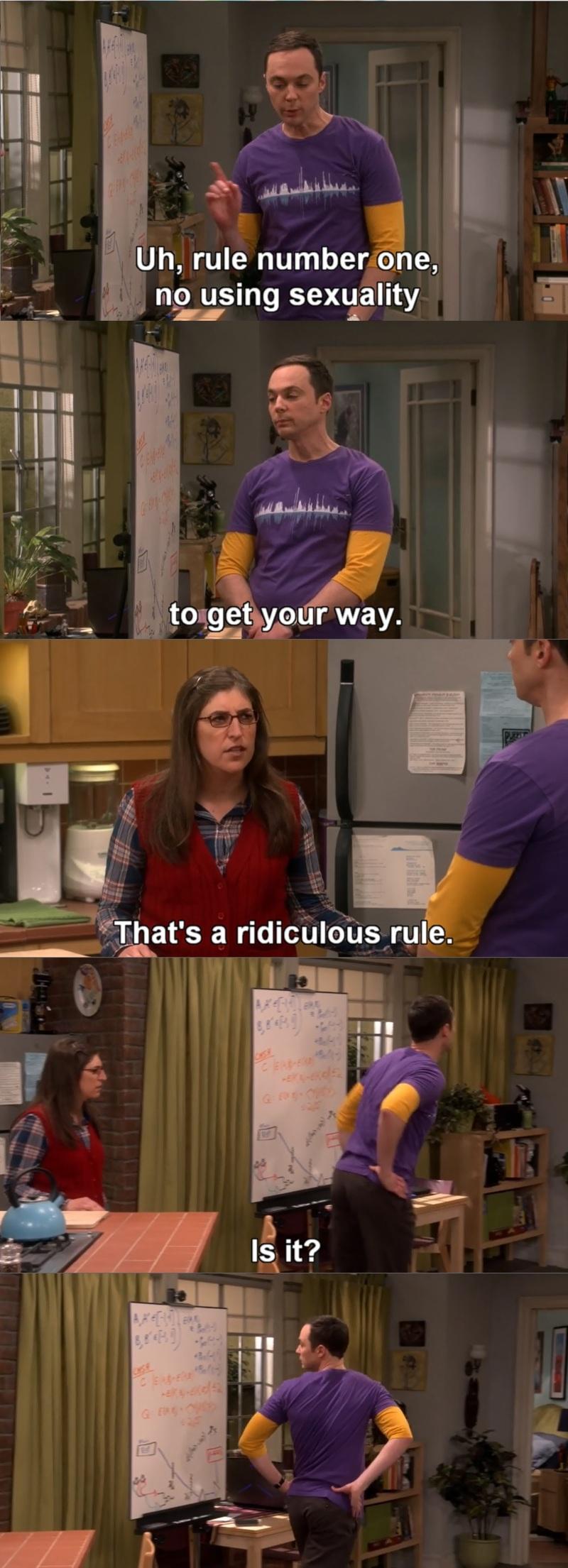 Werk it, Sheldon! :D