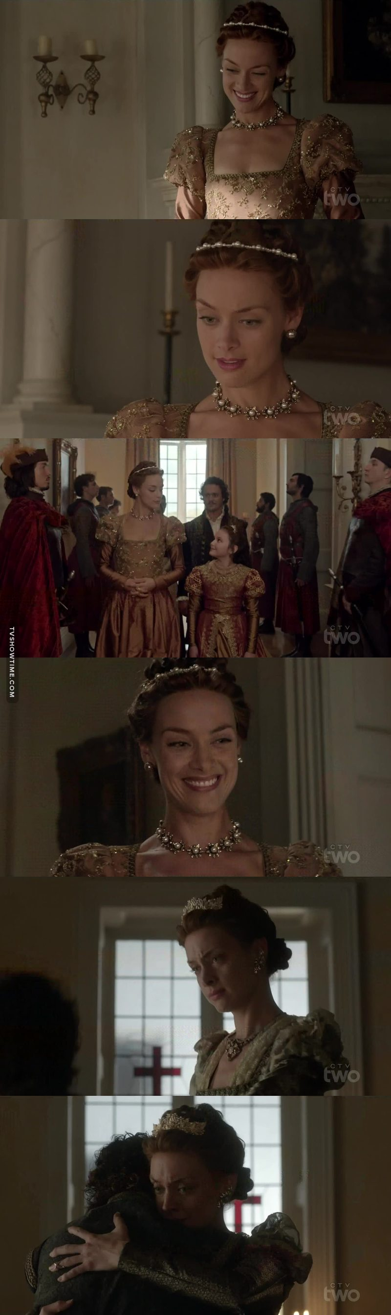 I really liked Elizabeth in this episode