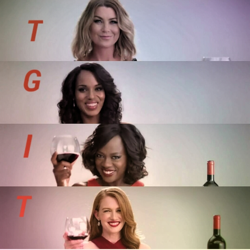 The Power House Ladies Of Thursday Nights. Awesome Series ❤ 🍷.