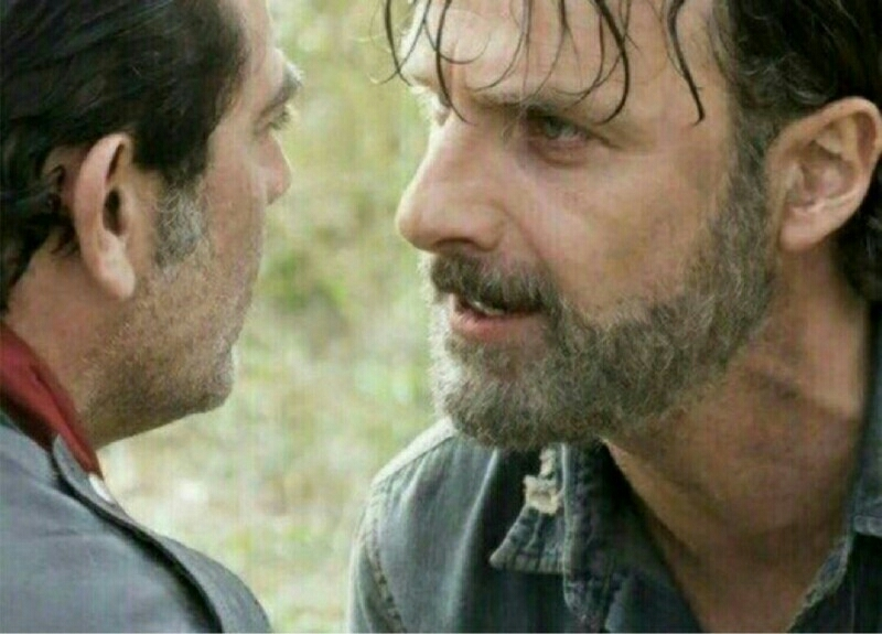 """I told you already, i'm gonna kill you, all of you. Maybe not today, maybe not tomorrow, but NOTHING is gonna change that, nothing""  YAS RICK!!!!✋"