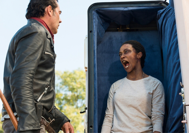 Même transformé en zombie Sasha a niquer dès mère 😁🔥👏🏻💖 BADASS SASHA 💪🏻
