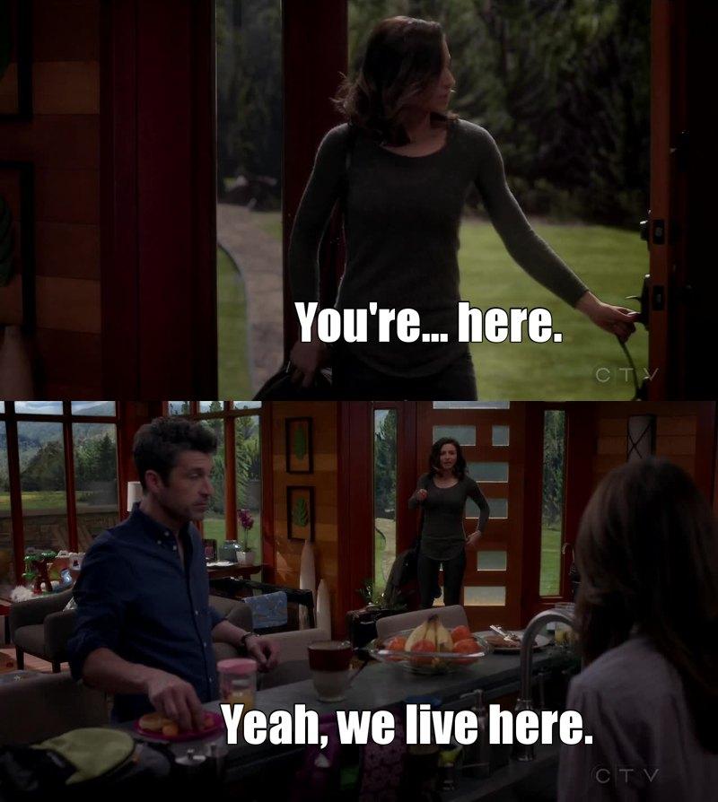 Ahahah Derek!