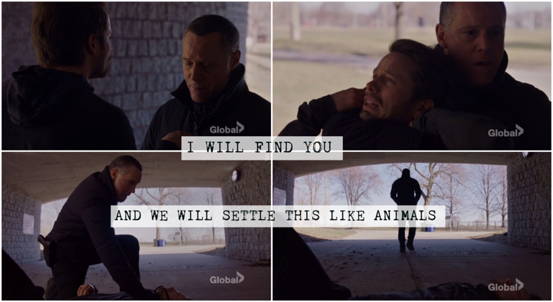 Hank Voight makes me wanna be from Chicago.
