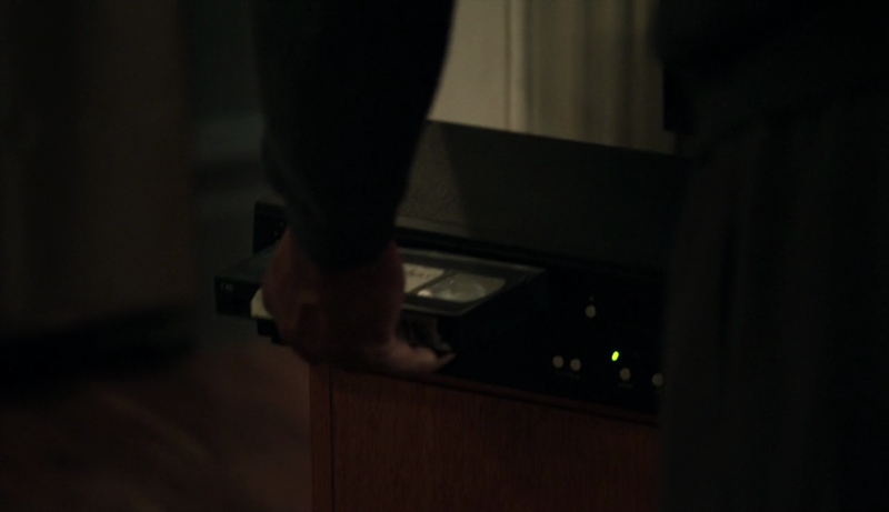 I think we can all agree that the most surprising thing about this episode is that Reade owns a VCR