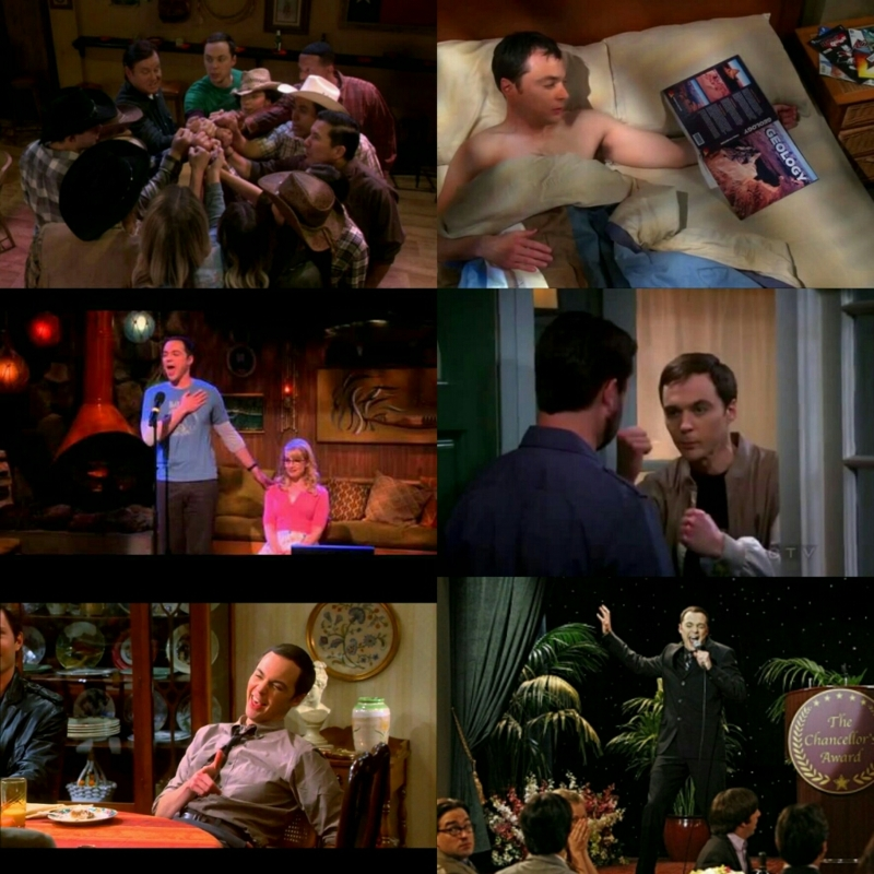 The scenes where Sheldon's drunk are always so hilarious! 😆