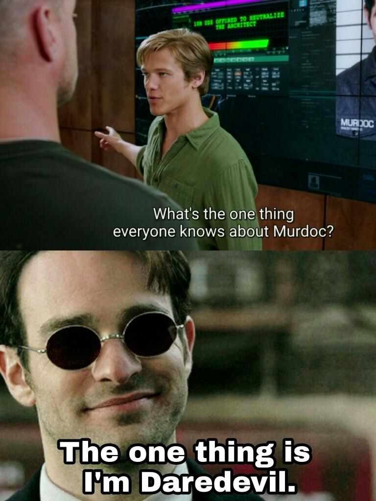 """""""Murdoc"""" remind me Matt Murdock 😂😂😂😂"""