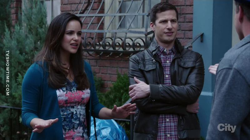 Jake and Amy. The power couple. 😍😍