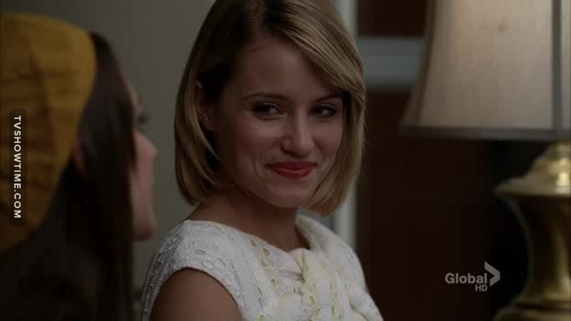 Quinn Fabray is back on track people, she is BACK. ON. TRACK :D