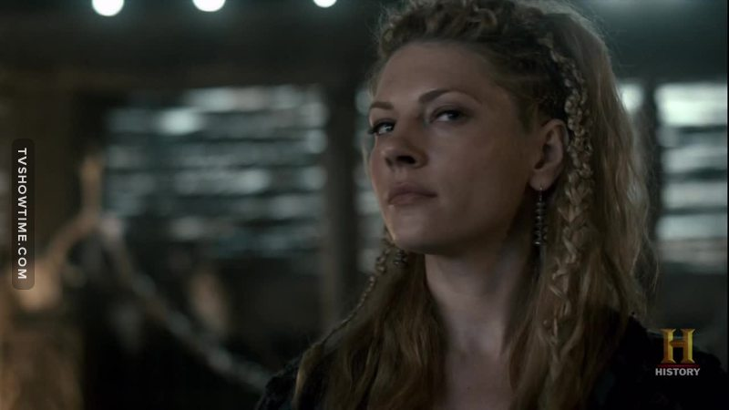 Will a Woman one day rule Kattegat? -Yes a woman will rule one day...