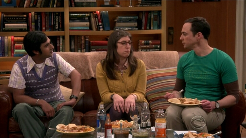 Raj - So what did Amy have that attracted you? Sheldon - oh! So many things, Her mind, her kindness and specially her body. Raj - Realllly? Amy - Relax! We are the same blood type, he knew he could harvest an organ. 😂😂