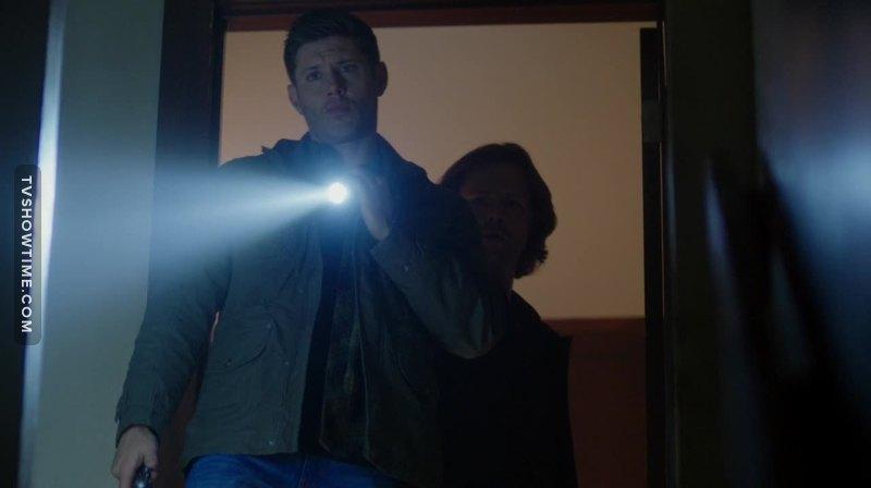 """Hello...Goat-dude?""  (Dean being Dean)."
