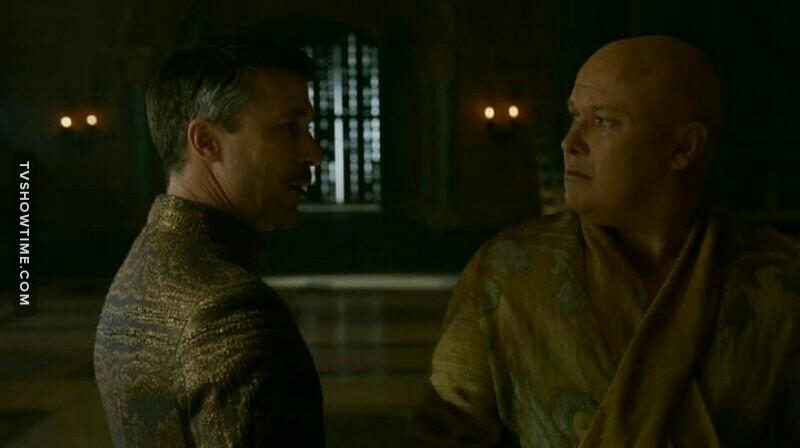 I swear the real game of thrones is between those two