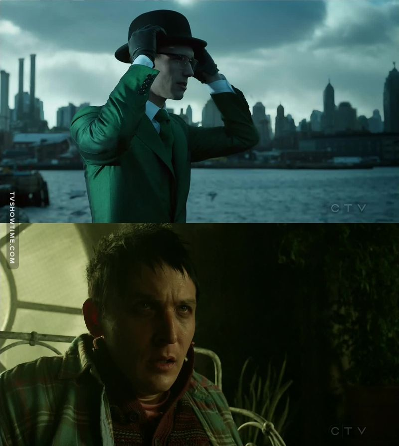I think this is the only show that makes us love villains, such as the Penguin, the Riddler and of course the Joker.