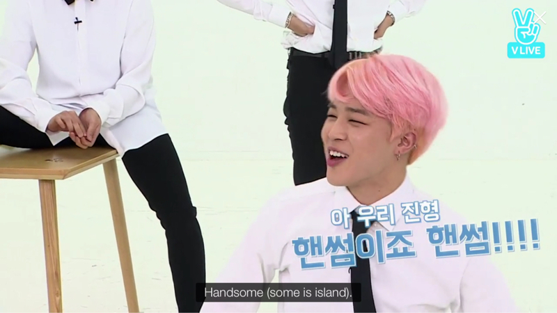 The only question Jimin answered😂😂💕