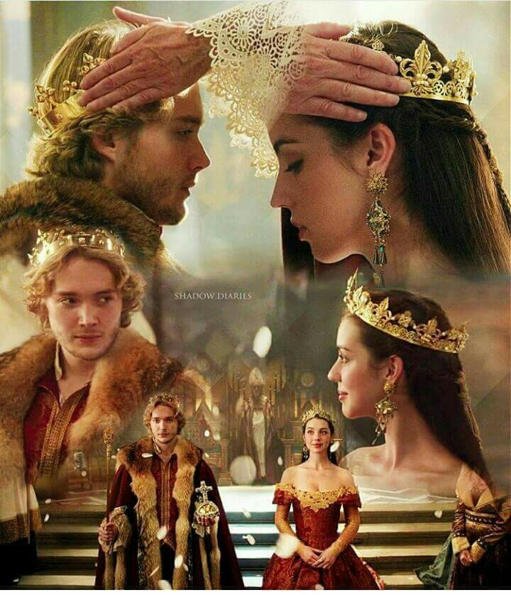 """I was wrong. What I asked of you, the backwards step. You must know, I want the same world as you do, the better one. And the only way to build it is together. We do greater things when we act as one, when we trust each other as equals. This is not a coronation for a king. It is for a king and queen. "" #frary  #marystuart"