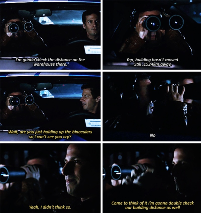 They're so cute and caring and the scene was so emotional 😊 I'm not crying, you're crying! 😢😭