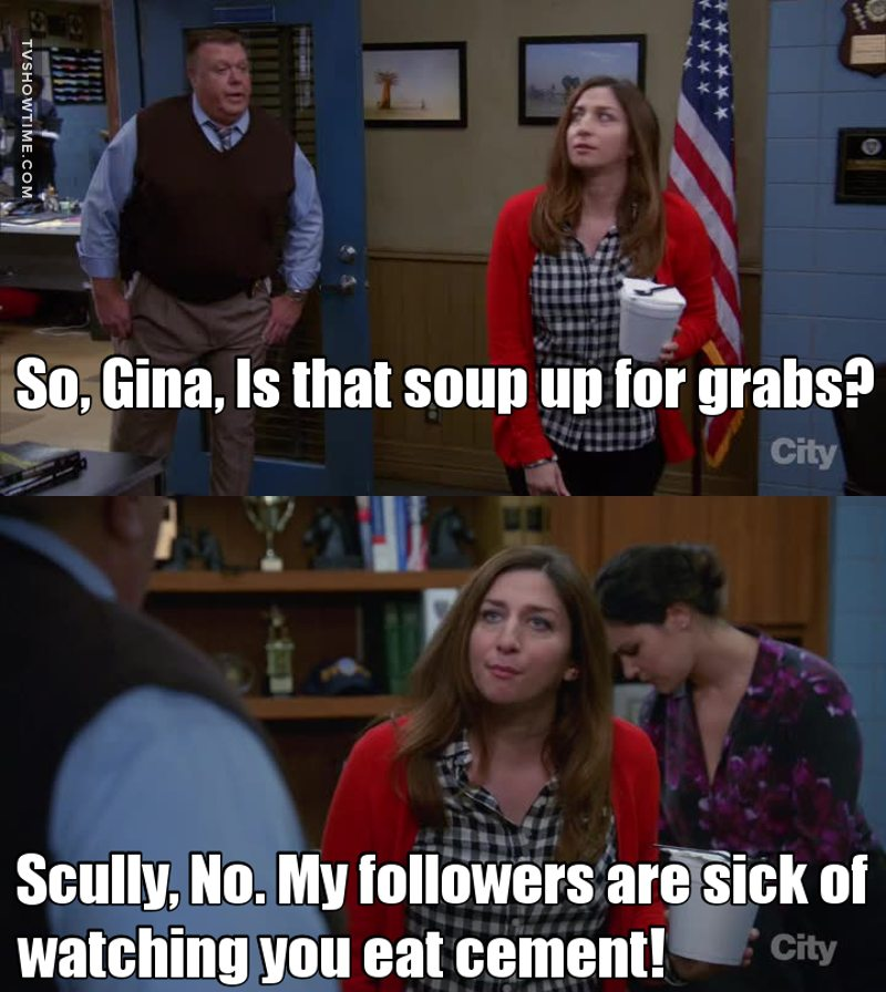Gina is the best lmao 😂❤️