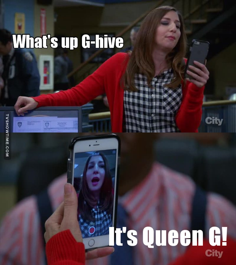 Gina is the best! 😂😂😂
