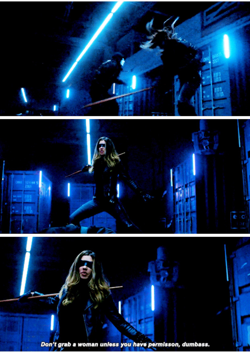 The Black Canary Dinah I've been waiting for, for so many seasons!! I am Team Dinah Drake all the way. She is killing it this season!!!