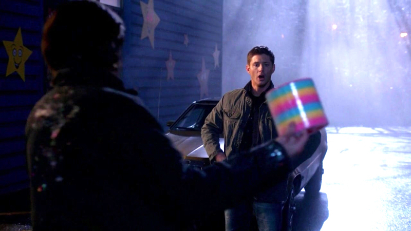 Why isn't anyone talking about how happy Dean looked when Sam got him the toy