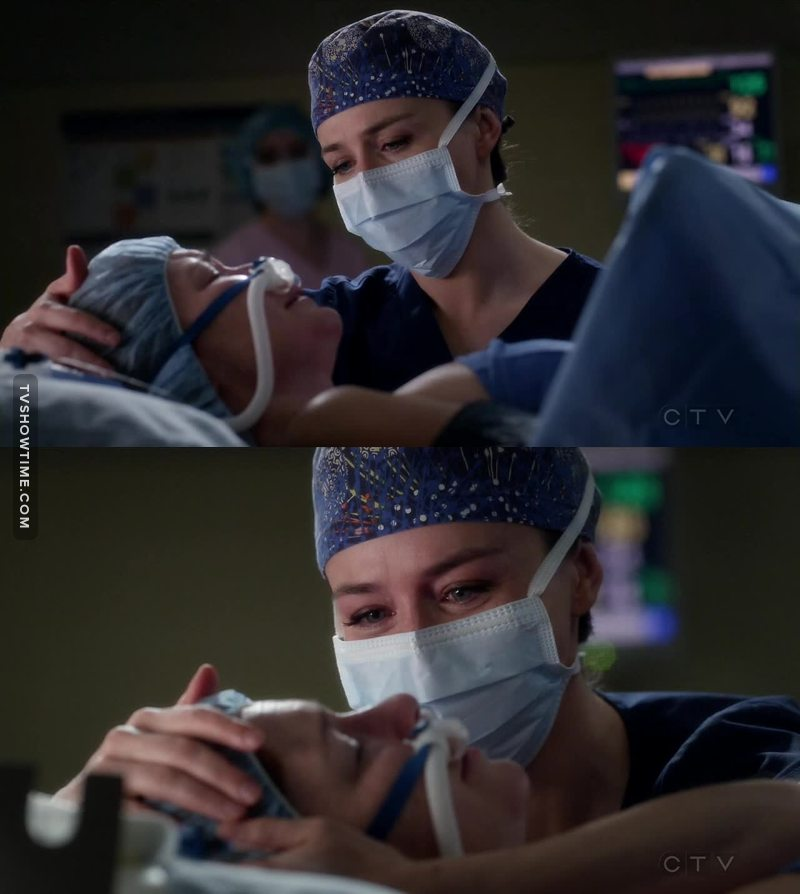 This moment was so heartbreaking. Caterina's acting is so good.