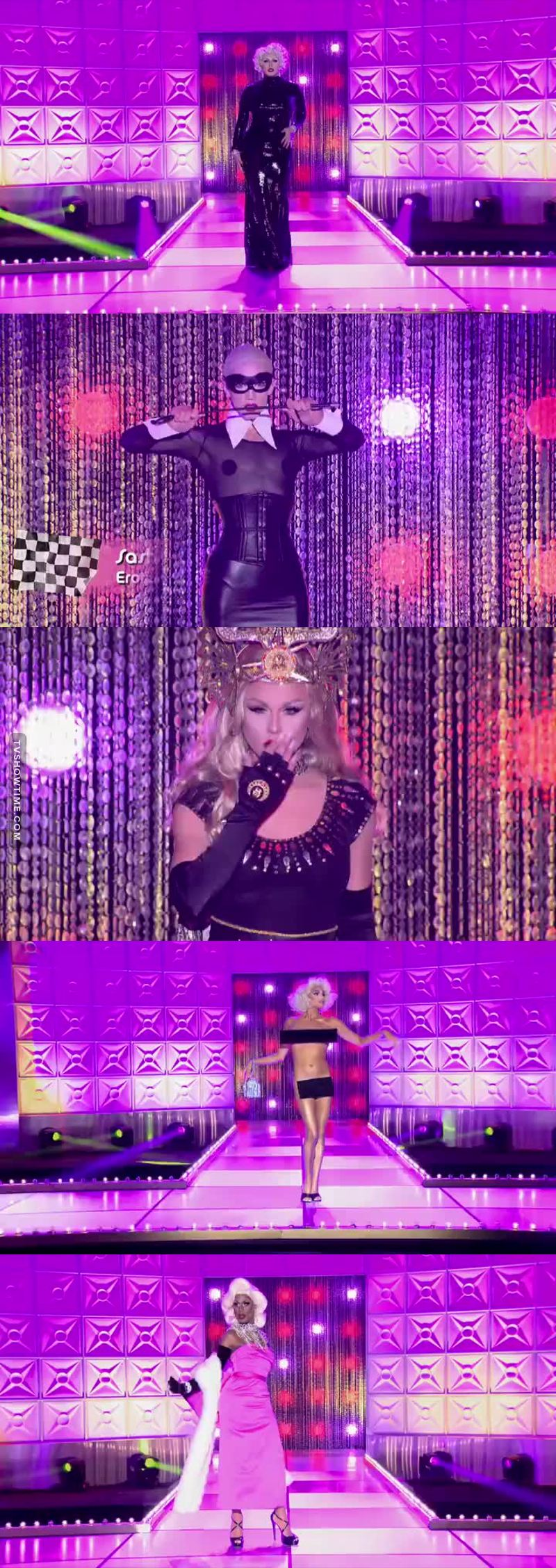 THIS. IS. A. MADONNA. RUNWAY. THANK YOU!