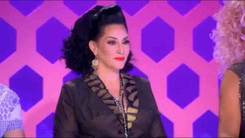 A cara da michelle visage de ver 4 Queens novamente repetindo looks foi a melhor USHAUSHAUSHAUSHA