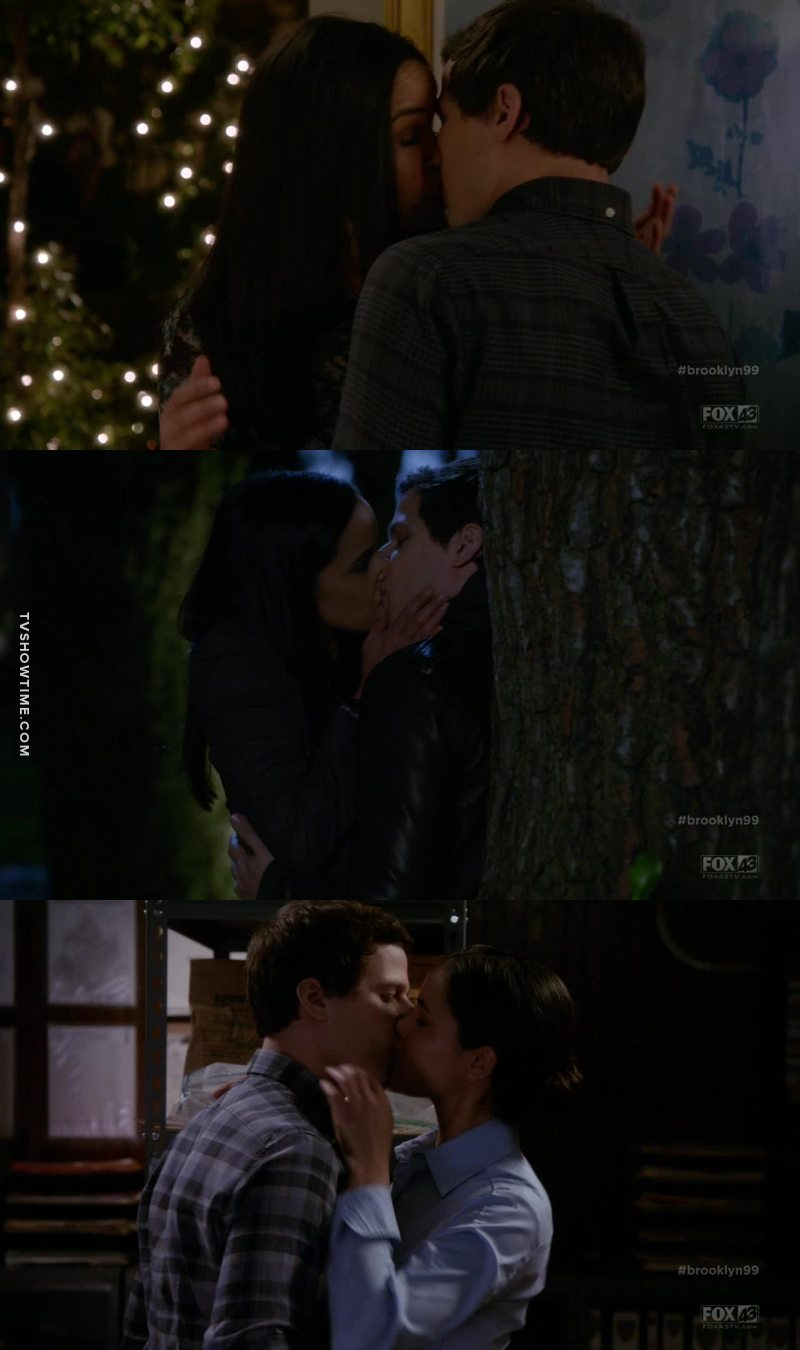 """From """"nothing"""" to three kisses in only one episode. I died"""