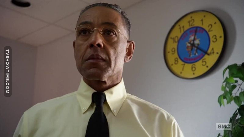 Still one of the most charismatic bad guys ever. I had missed you, Gustavo Fring.
