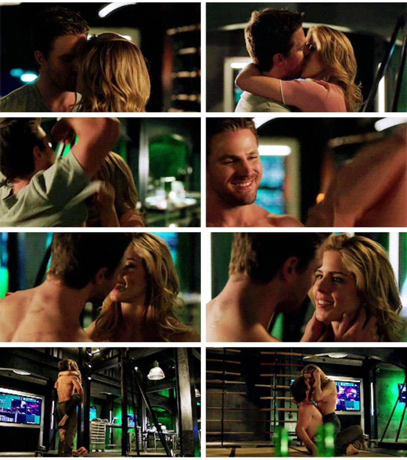 YES YES YES!!! Oh how I've missed Olicity!!!! 😍😍😍