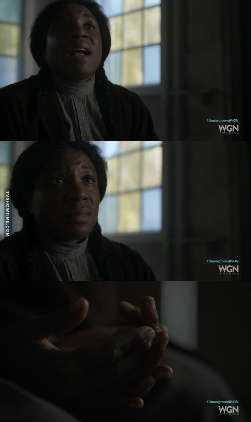 Aisha Hinds is truly amazing! Her portrayal of Harriet Tubman/Moses is the very symbol of strength and courage but her fragility is the more stirring element! I absolutely love her him this role!