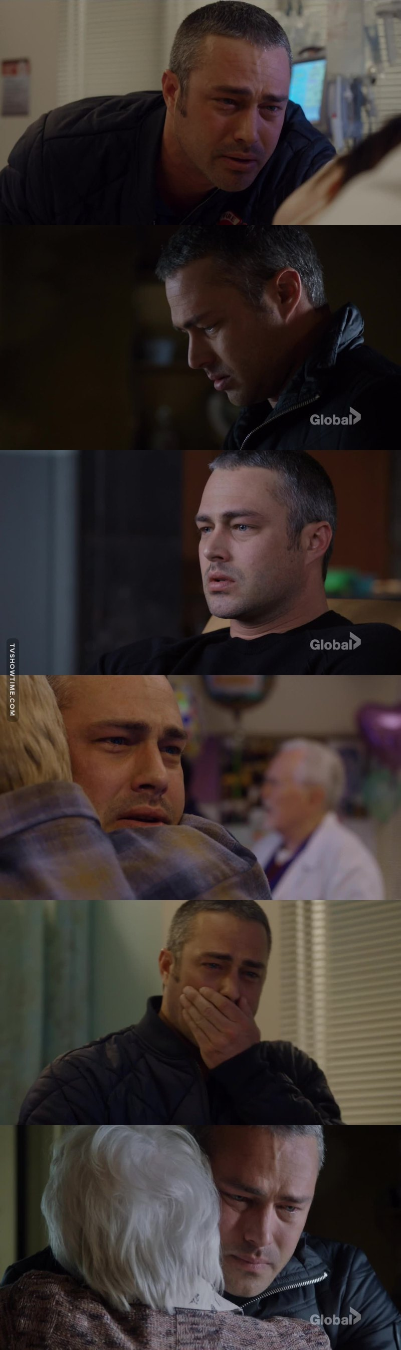 Oh my God .. his acting was perfect .. it gets the audience feel as they feel what his is going through .. I absolutely love Taylor Kinney and his acting