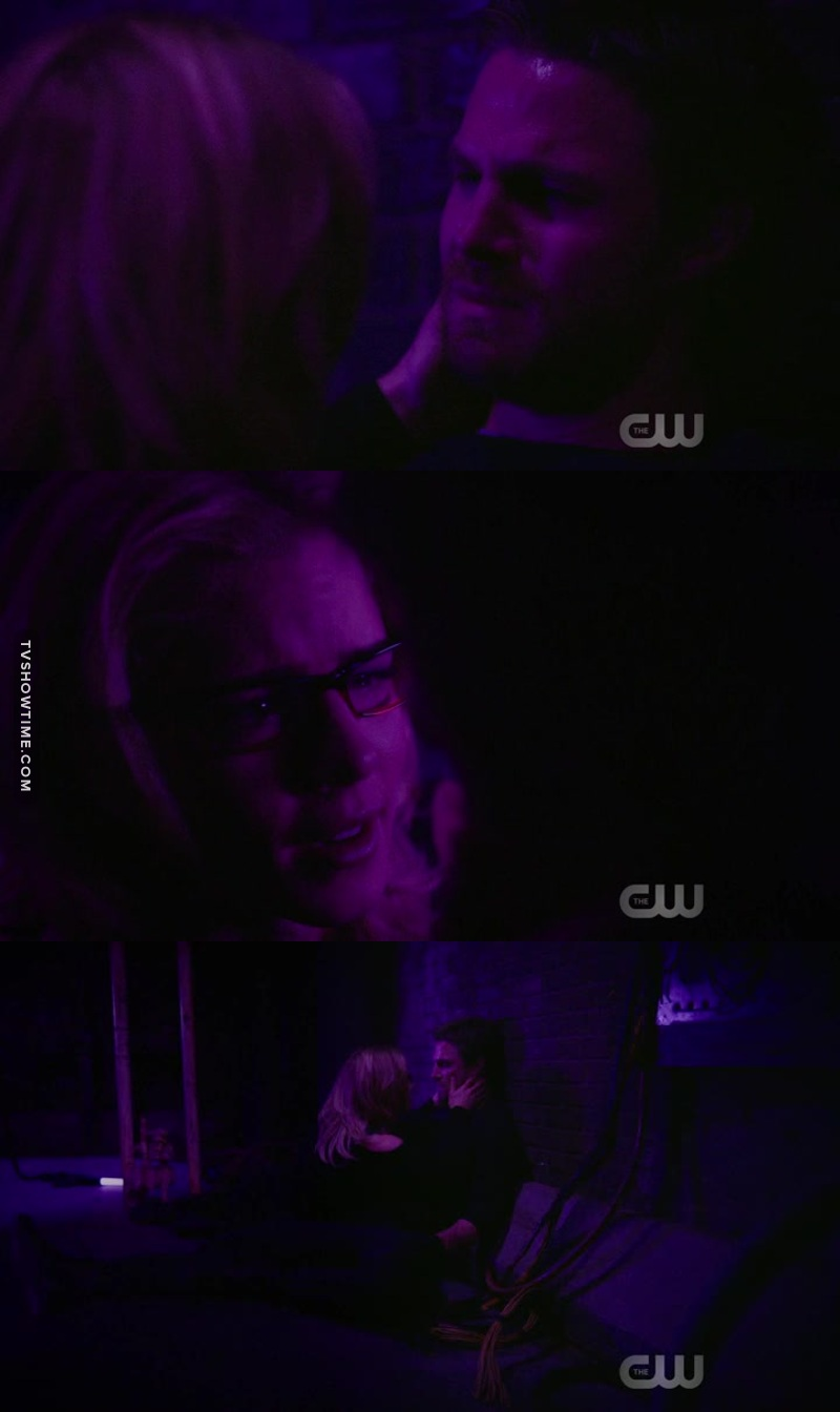 It doesn't happen very often, but I LITERALLY CRIED 😭😭😭 in this scene. You could feel even the actors, Stephen and Emily, were very moved by this dialogue between Oliver and Felicity.