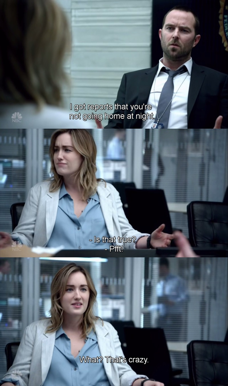 Even when life has given her so much pain, she always try to put humor in her life.  This is why Patterson is my favorite!!