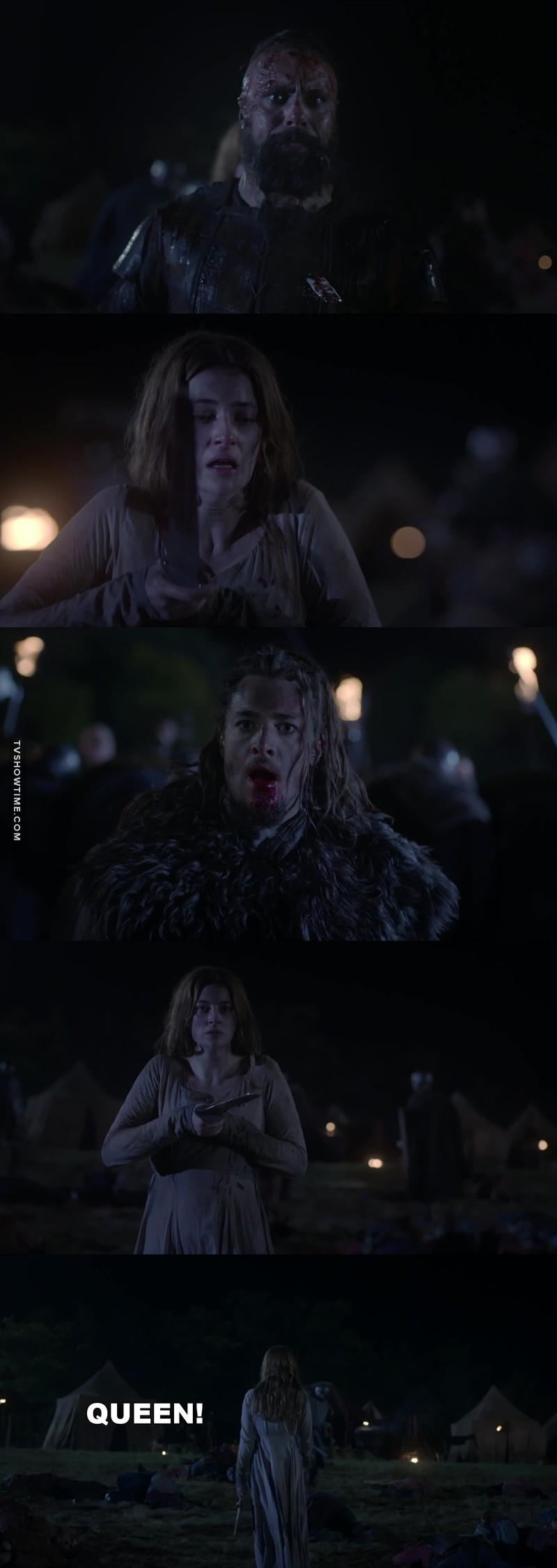 Aethelflaed is such a dynamic and clever woman! She does not deserve that bastard, Aethelred. I loved her a lot already and now I love her even more for killing Sigefrid!  Poor Erik though.. I really wished they'd get their happy ending. 💔