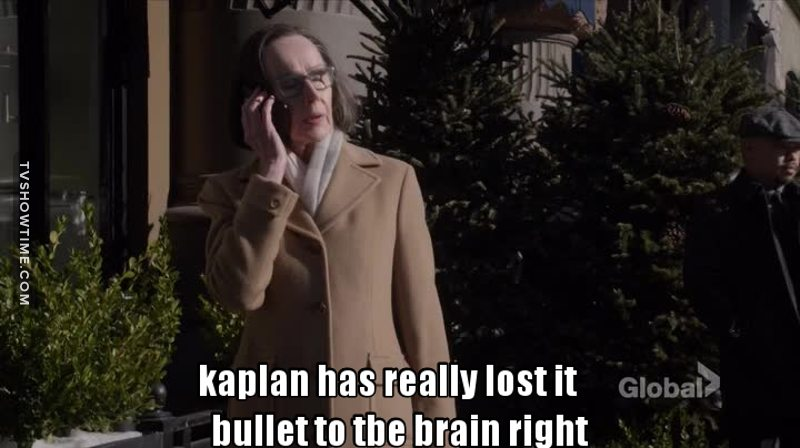 Well it's reddington's fault  He should have forgiven her But instead all this wild fires 🔥 Will miss you KAPLAN when ReD kills you 😥😥😥😥 You were very kind to liz