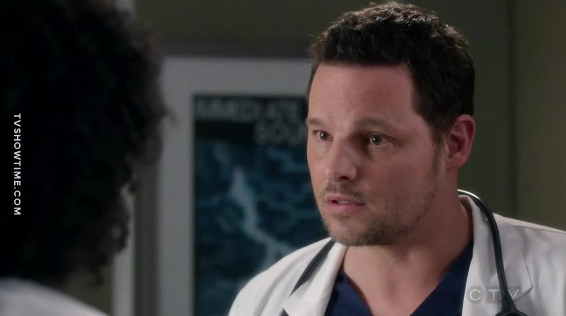 Ladies and gentlemen, Doctor Alex Karev, the savior of the little one 😙