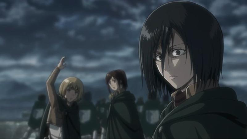 creepy Mikasa is creepy