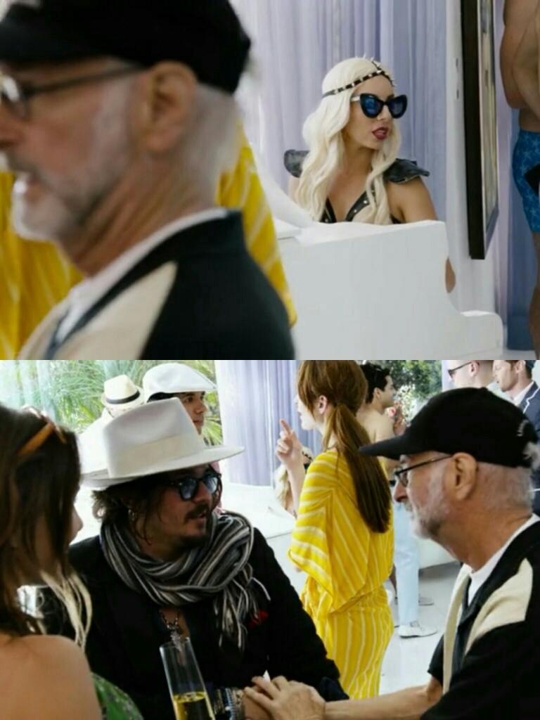 Johnny Depp and Lady Gaga?