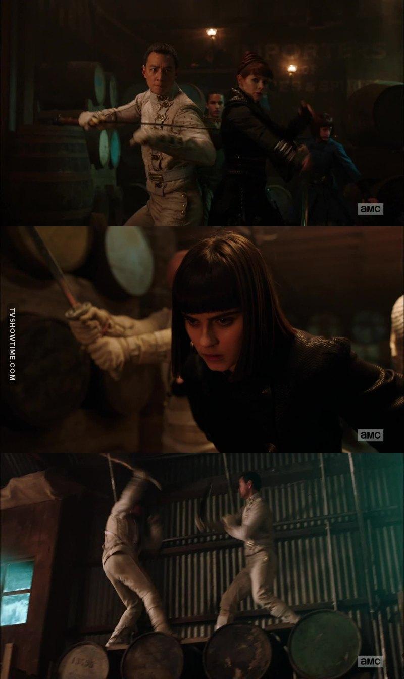 """Excellent les 10 dernieres minutes !!  Widow et Sunny ! Ca va faire tres mal !! J'aime la Widow mais elle change beaucoup d'allies... 😉 Un gros bordel.   Pas sure que Sunny apprecie quand il va apprendre que Widow a """"rendu"""" Veil a Quinn alors qu'elle pouvait la proteger... en gros, ca va peter de partout !! 💣  J'etais tellement mal pour Veil... j'espere que Sunny va la retrouver avec Henry."""